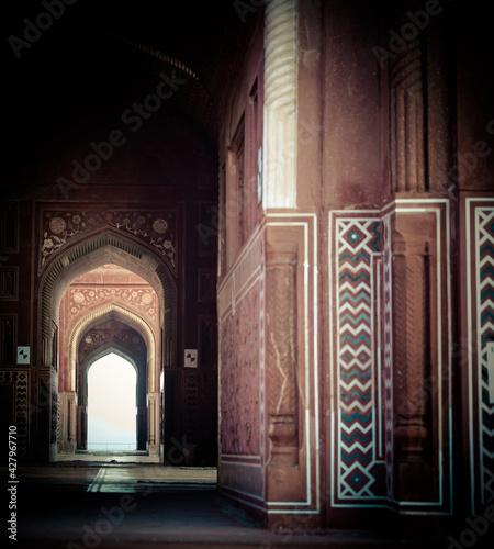 Slika na platnu views of the taj mahal
