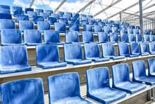 Empty Stands Due To Canceled Concerts, Theater And Other Types Of Events Lege Tribunes Door Afgelaste Concerten, Theater En Ander Soorten Evenementen