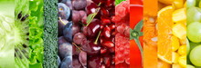 Fruit And Vegetable Background