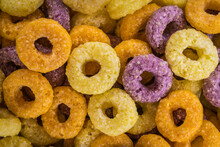 Close Up Of Breakfeast Cereals