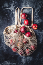 Cotton Bag With Apples