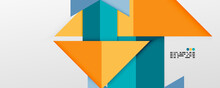 Shiny Color Triangles And Geometric Shapes Vector Abstract Background