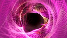 Colorful Textures, Backgrounds And Abstract Designs Due To The Development Of Curves And The Intersection Of Lights.