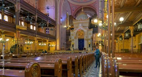 jüdische Synagoge Budapest Innen