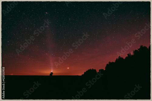 Nocne niebo - fototapety na wymiar