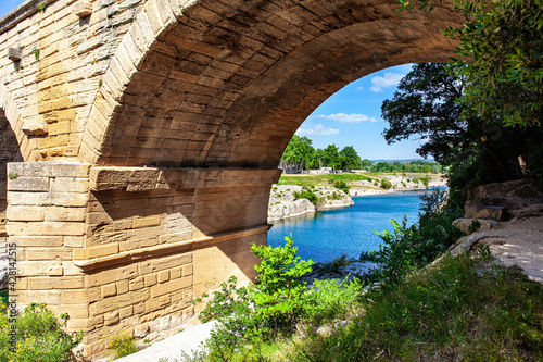 Fototapeta The arch of the aqueduct