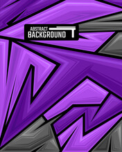 Abstract Geometric Backgrounds For Sports And Games. Abstract Racing Backgrounds For T-shirts, Race Car Livery, Car Vinyl Stickers, Etc.