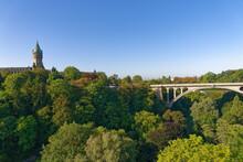 Luxembourg, Adolphe Bridge, Luxembourg City