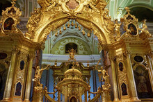 Peter And Paul Fortress Main Altar, Peter And Paul Cathedral St Peterburg, Russia