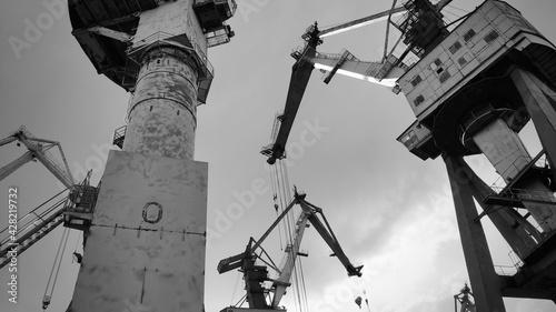 Valokuva portal crane