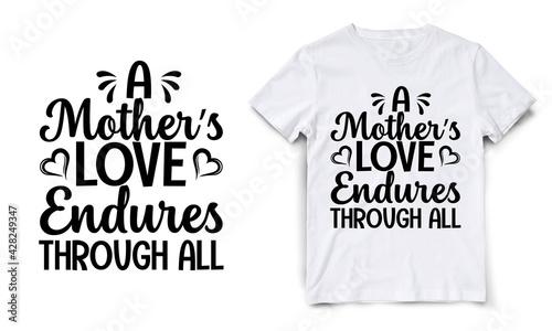 Fotografia a mother's love endures through all