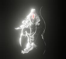 Shri Ram Digital Art