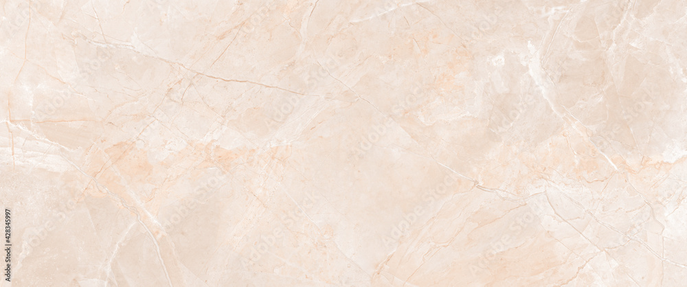 Brown beige abstract marble granite natural sand stone texture panorama