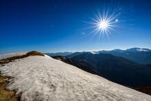 Montagna Con La Neve