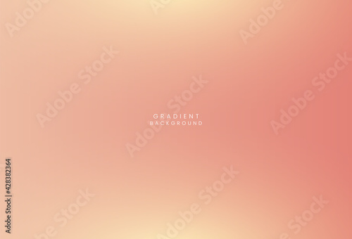 Foto Colorful gradient vector background,Simple form and blend of color spaces as con