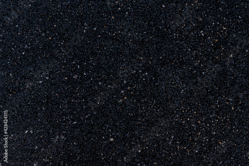 Tablou Canvas Background and textured of image of an asphalt surface that overlooks a mixture of rock and black rubber