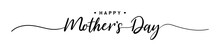 Mother Day. Happy Mother's Day. 9May. Mother Day Poster. Vector Illustration For Women's Day, Shop, Discount, Sale, Flyer, Decoration. Lettering Style.