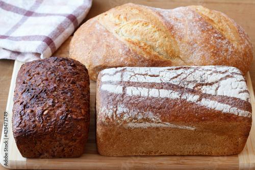 Fototapeta Różne rodzaje chleba obraz