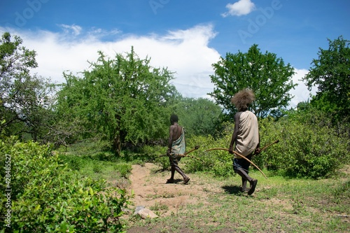 Tela chasseurs de la tribu Hazabe
