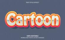 Editable Text Effect Cartoon Text Style