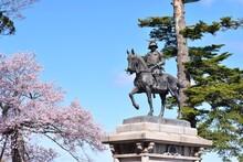 伊達政宗像 仙台市R3  青建公指令 07号 都市公園内行為許可書(写真撮影) を2021年4月13日 青葉区長より頂きました