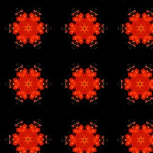 Beautiful Abstract Batik Background Design