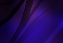 Dark Purple, Pink Vector Abstract Blurred Background.
