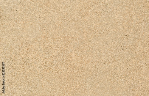 Fotografia Sand Texture. Brown sand. Sand background.