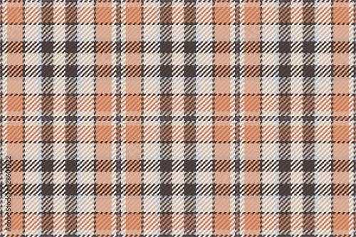 Seamless pattern of scottish tartan plaid. Repeatable background Fototapeta