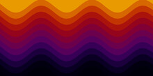 Abstract Colorful Fade On A Retro Background