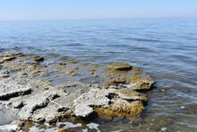 Beautiful View Of The Salton Sea Shoreline In California