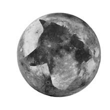 Cabeza De Lobo En La Luna