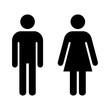 ikona mężczyzny i kobiety