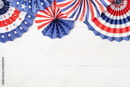 Tablou Canvas 4th of July holiday banner design