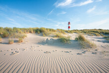 Lighthouse At The Dune Beach, Sylt, Schleswig-Holstein