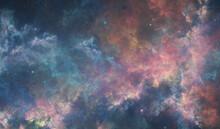 Fictional Infinite Starfield Nebula - 13020 X 7617 Px