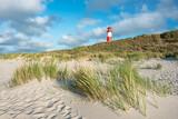 Fototapeta Paryż - Lighthouse List Ost, Sylt, Schleswig-Holstein, Germany
