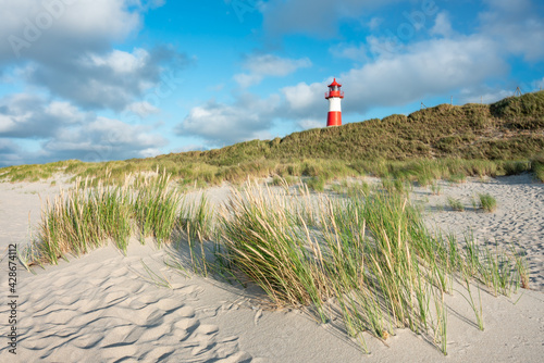 Lighthouse List Ost, Sylt, Schleswig-Holstein, Germany