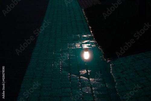 Fototapeta wieczorne odbicie obraz