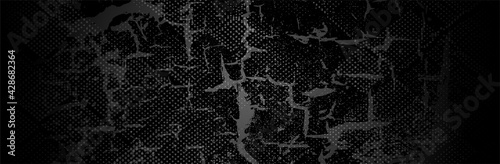 Black Grunge Background Wallpaper Mural