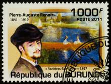 Portrait Of French Painter Pierre-Auguste Renoir