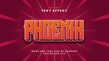Phoenix Text Effect