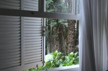 Beautiful Rustic White Brazilian Window