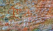 ANCIENT Rock Art In Kakadu