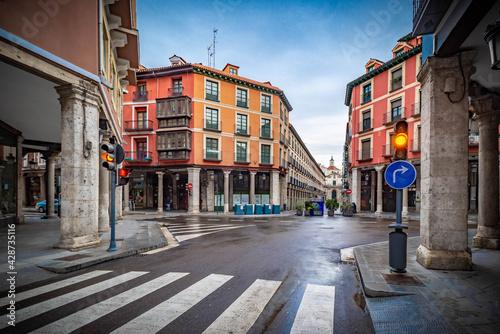 Fotografie, Obraz Valladolid ciudad histórica y monumental de la vieja Europa