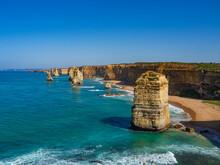 VIstas Desde Uno De Los Miradores De Los Doce Apóstoles En Australia