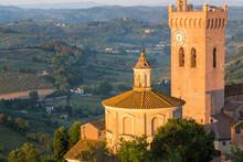Prato Del Duomo And Countryside Around San Miniato, Tuscany