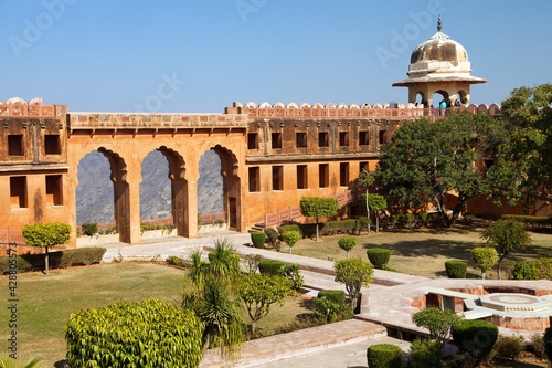 Fotografia, Obraz Amber or Amer fort near Jaipur city Rajasthan India
