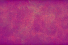 Abstract Old Pink Purple Bright With Vintage Grunge Texture Gradient Design Or Hot Girlish Background Invitation Or Web Template, Blotchy Paint Wall Canvas