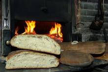 Genzano Bread Called Pane Casareccio Di Genzano IGP Is A Typical Bread Of Small Town Located In The Area Of The Roman Castles Near Rome In The Lazio Region
